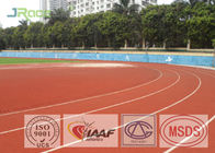Skip Resistance Polyurethane Athletics Synthetic Jogging Track 13MM Thickness